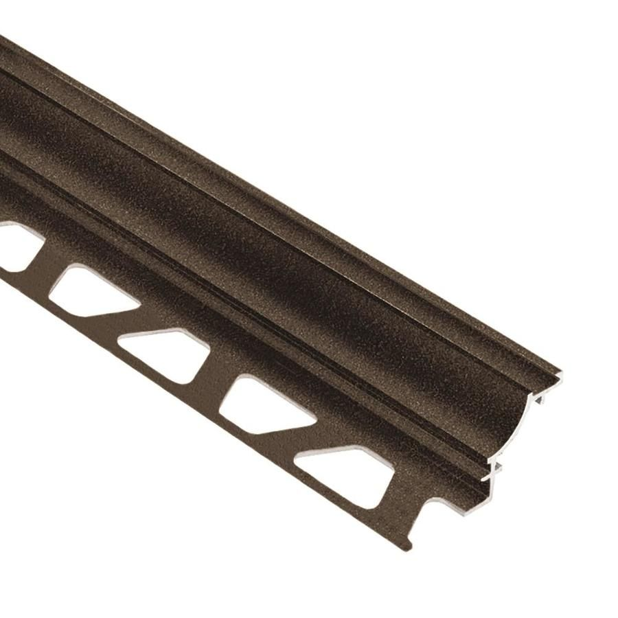 Schluter Systems Dilex Ahk 0 375 In W X 98 5 In L Aluminum Tile