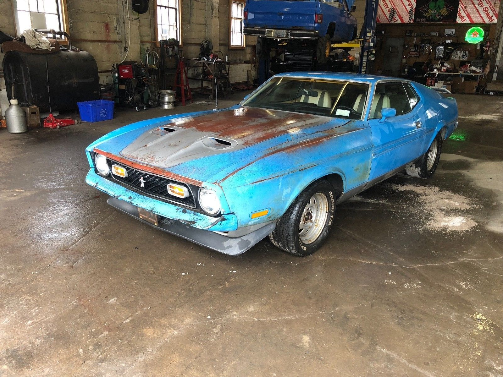 Ford Mustang Mach 1 1972 Venta