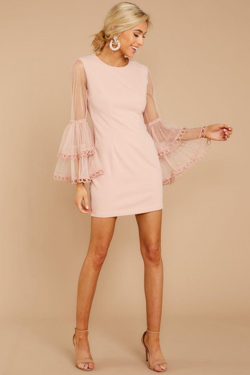 Wanderlust Blush Pink Skater Dress Pink Skater Dress Blush Pink Dresses Short Dresses