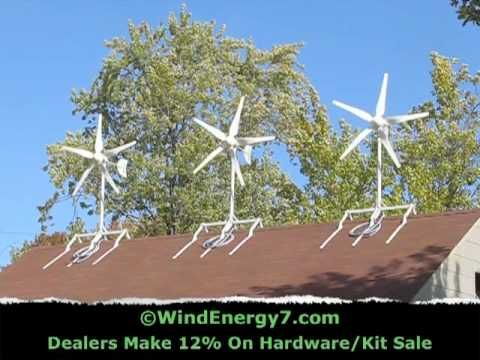 Roof Mount Wind Turbine Uploaded on May 5, 2010 http://www.WINDENERGY7.COM  - RoofMill™, is the original Roof M… | Small wind turbine, Wind turbine,  Renewable energy | Windenergy7 Wiring Diagram |  | Pinterest