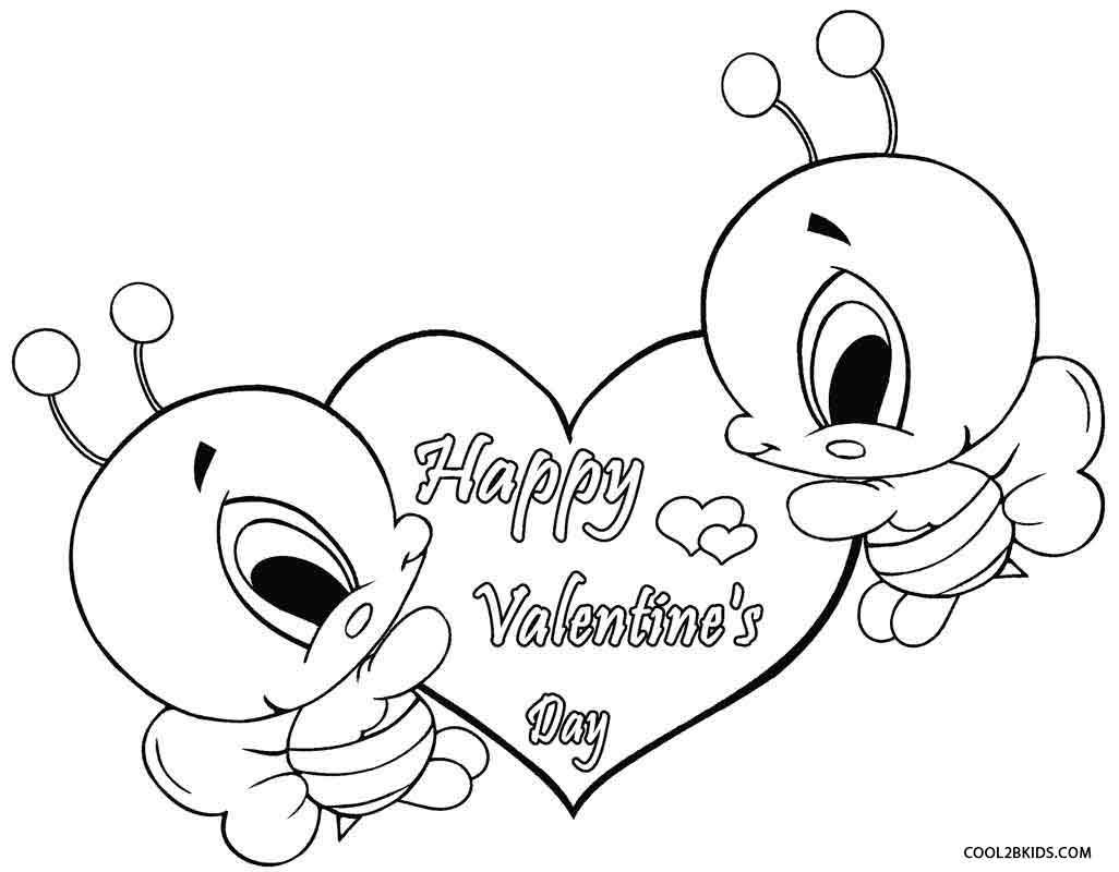 Valentine Coloring Pages For Toddlers - Worksheet & Coloring Pages