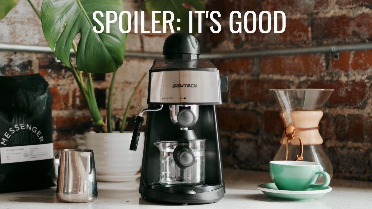 مراجعة باريستا لآلة صنع الإسبريسو بسعة 3 5 بار 4 كوب إسبرسو شوت على فوجي Xt4 Drip Coffee Maker Coffee Drip Coffee