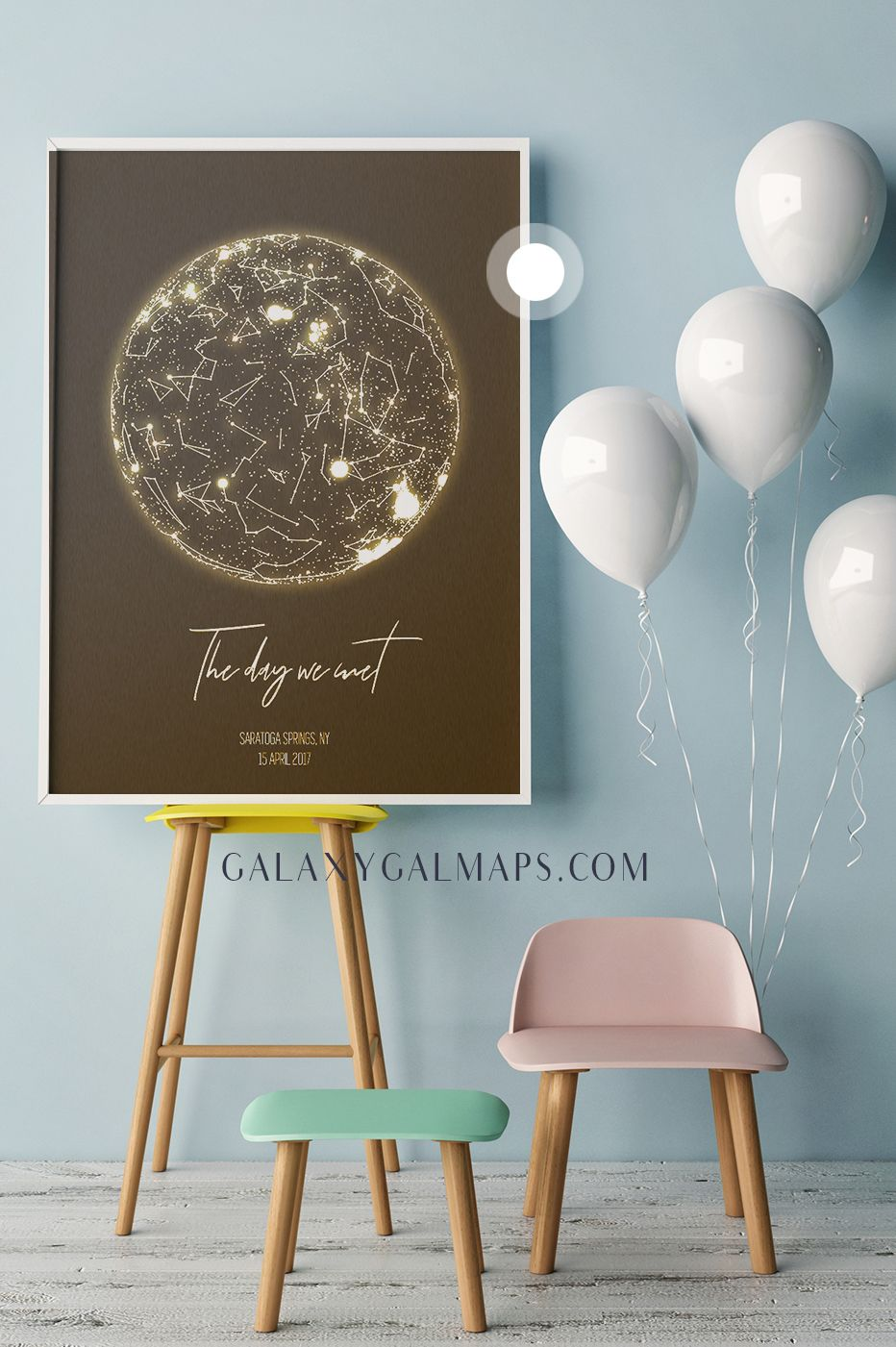 Personalized Star Map Night Sky Print