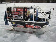 My Ice Fishing Sled