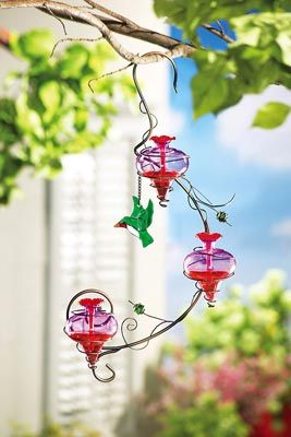garden dp hummingbird outdoor feeder maggift amazon hanging oz com
