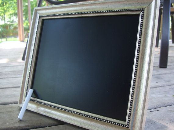 Upcycled shabby chic / rustic chalkboard frame - photo prop on Etsy, $21.23 AUD