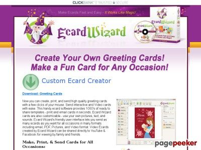 ecard wizard premium greeting card making software greeting cards - Card Making Software