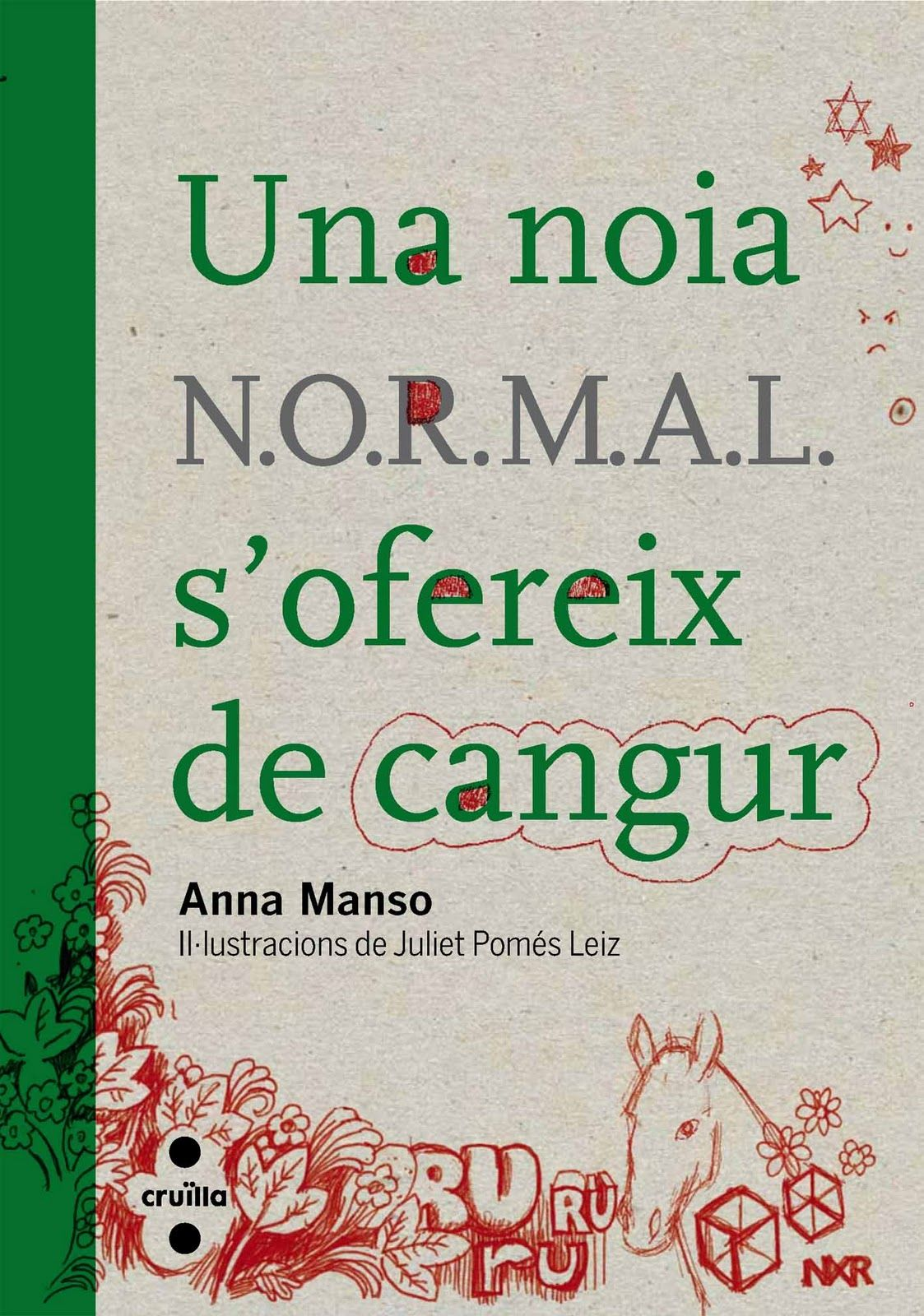 """Una noia N.O.R.M.A.L s'ofereix de cangur"" d'Anna Manso"