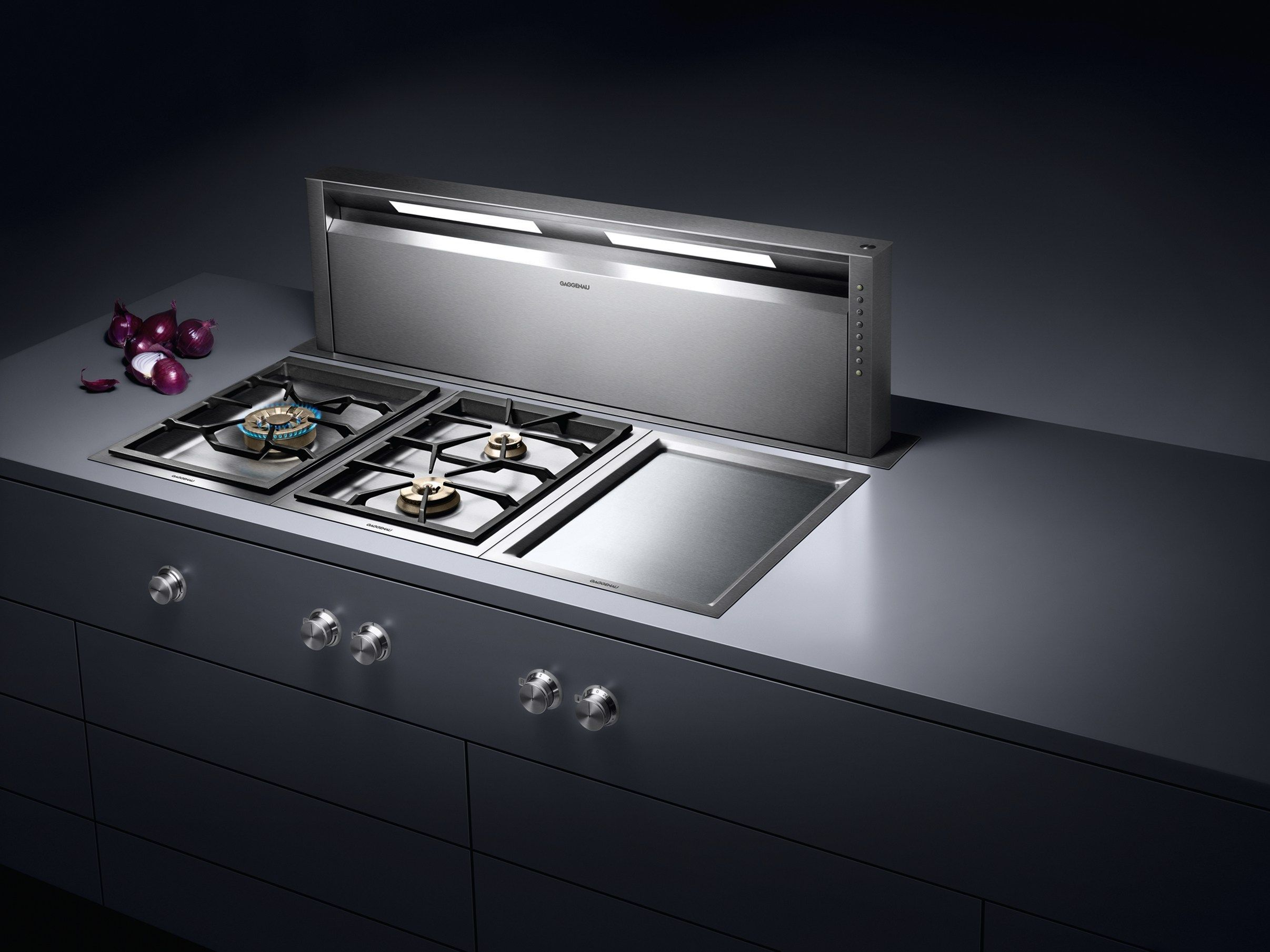 Kitchens Electric Home Campana Extractora Gaggenau Appliances  # Muebles De Cocina Gaggenau