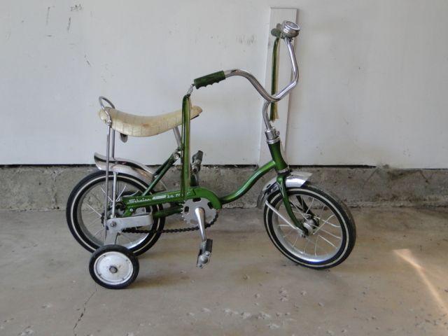 1960 S Schwinn Apple Green Lil Tiger Stingray Bike Avail June 20 22 At Our Oak Forest Estate Sale Xcntricestates Com For Details Juguetes Ninos