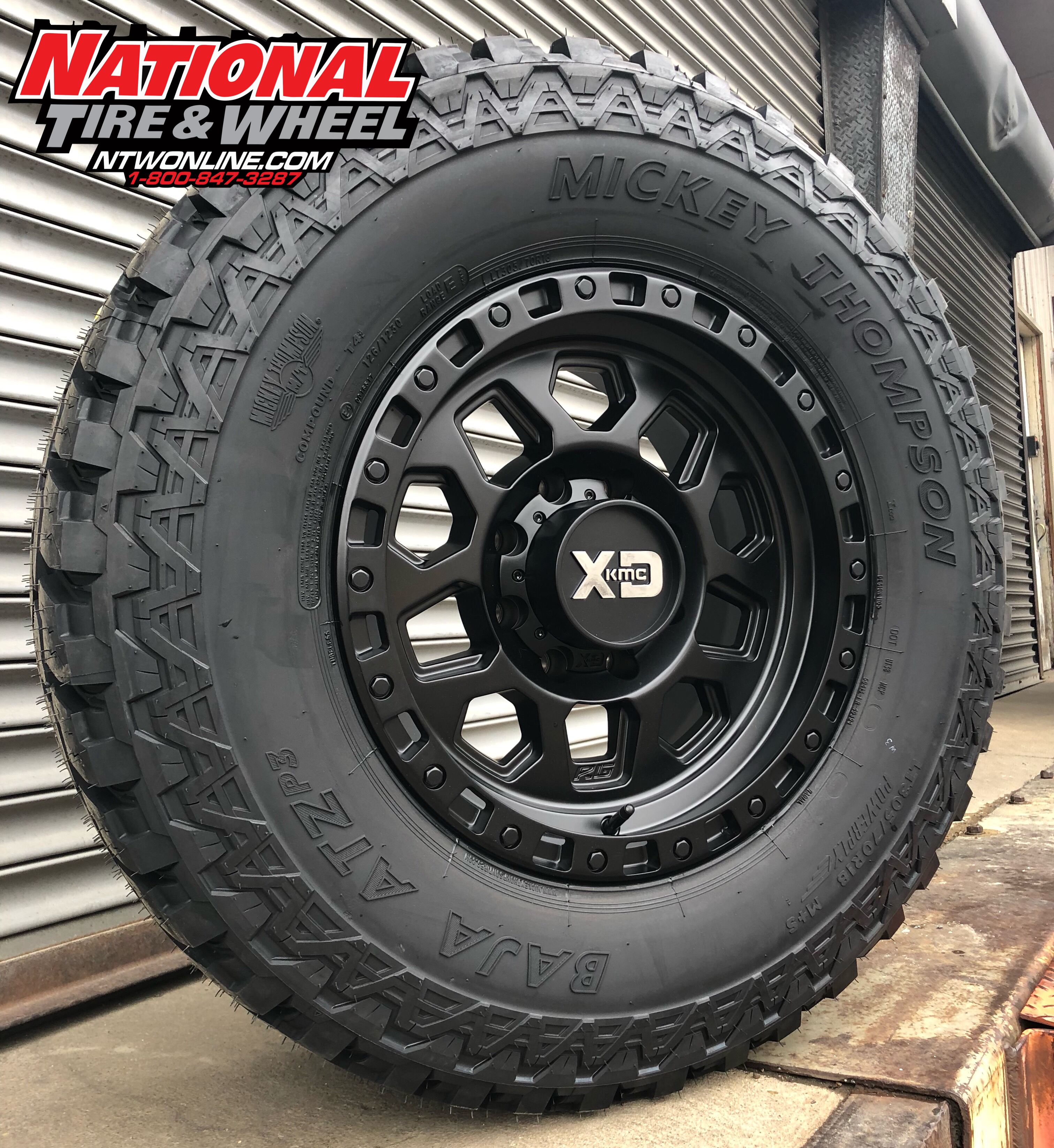18x9 Xd Series 132 Rg2 Mounted Up To A 305x70r18 Mickey Thompson Atz