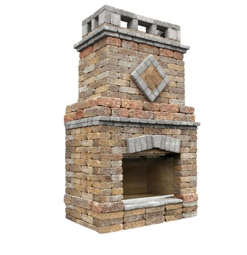 Alpine Fireplace Price Includes Landscape Block Detailed Plans Firebrick And Steel Reinforcement All Other Backyard Fireplace Outdoor Living Kits Fireplace