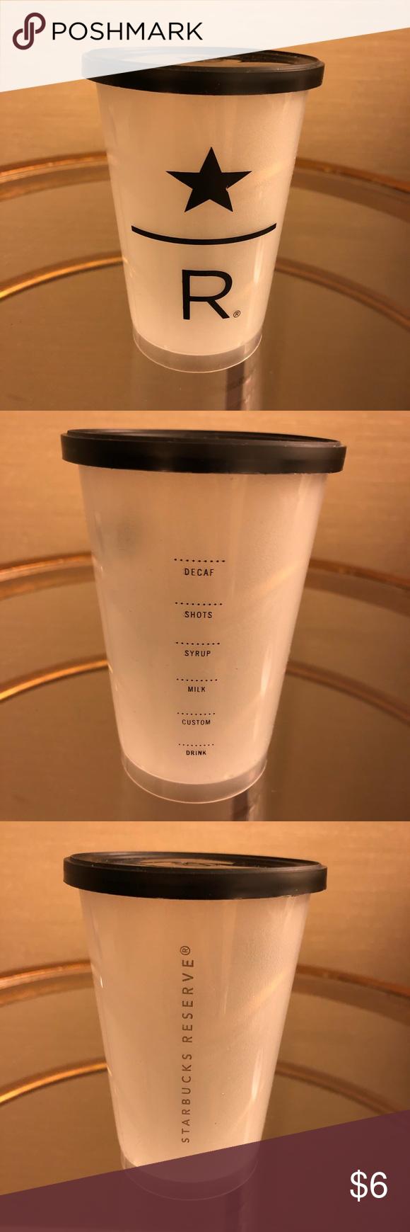 Starbucks Reserve Plastic Coffee Cups with Lids Price