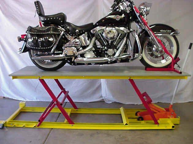 Lift Table Car Jack Motorcycle Lift Table Homemade Motorcycle Bike Lift