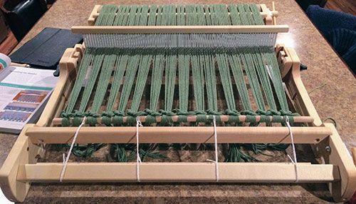 Jul 30 Using a Schacht Flip Loom: Rigid Heddle Weaving for