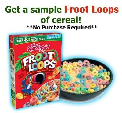 Get A Sample Of Froot Loops Cereal Online Free Sample Free