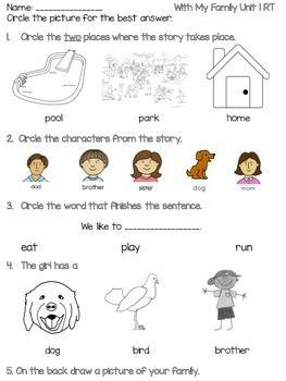 Benchmark Literacy Kindergarten Readers Theater Quiz