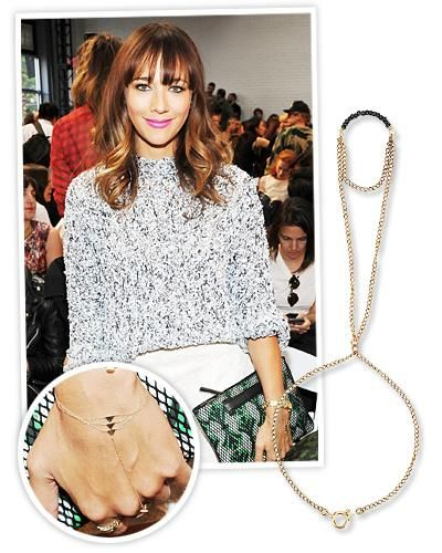 6 CelebrityInspired Jewelry Trends to Try Now Lily collins
