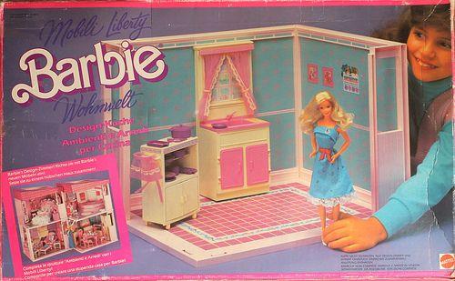 Barbie Living Pretty Kitchen 1987 Everything Barbie