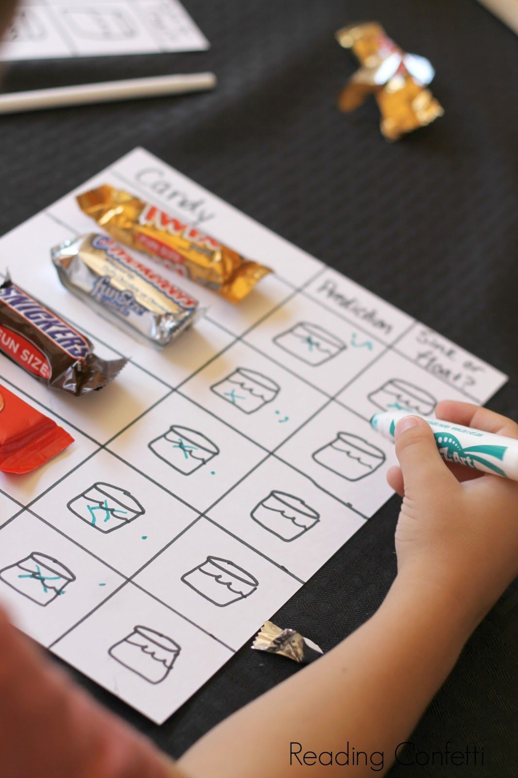 Sink Or Float Candy Science Experiment For Kids