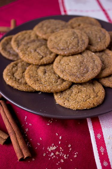 classic chewy molasses cookies