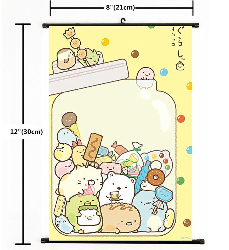 Anime Sumikkogurashi Wall Scroll Poster coplay 2408