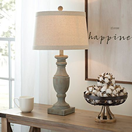 Blue And Gray Wash Table Lamp Kirklands Farmhouse Table Lamps Table Lamps Living Room Lamps Living Room
