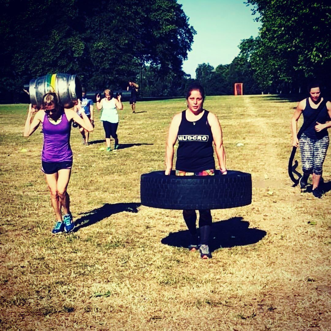 Strong girls ... love this photo of the girls smashing it at Bootcamp @lisabolton_05 @vickisvips @el...