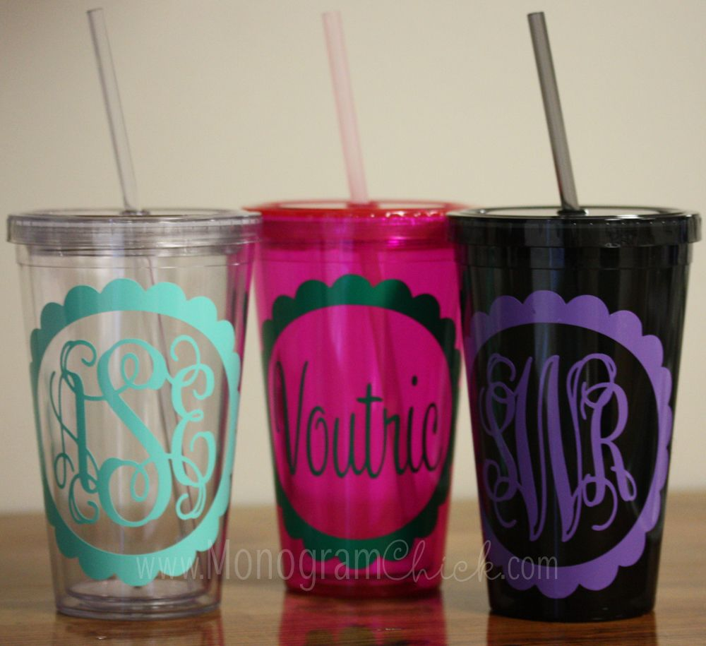 personalized cups with straws arts arts
