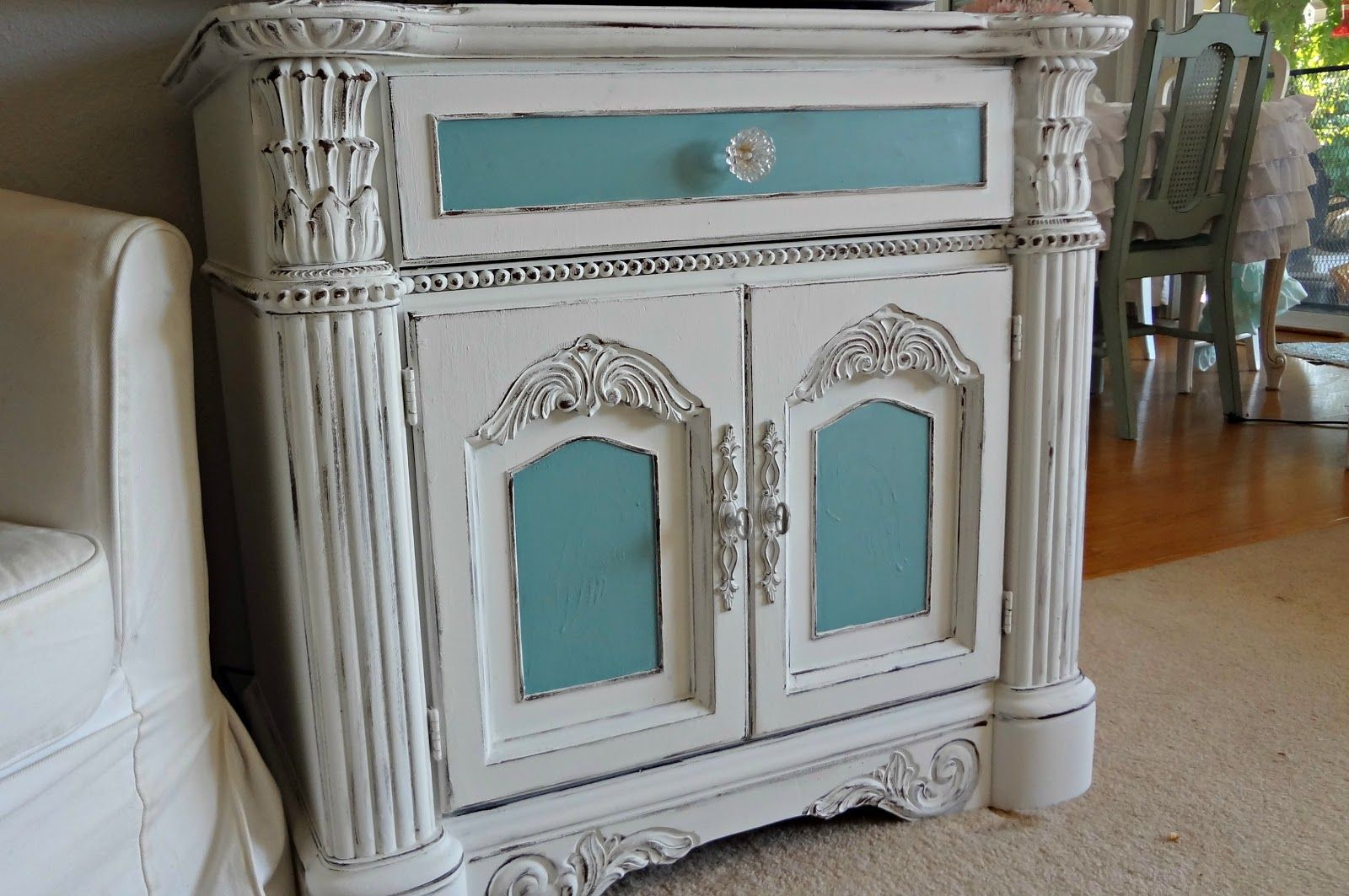 For the love of white Painting Furniture Tutorial Chalk