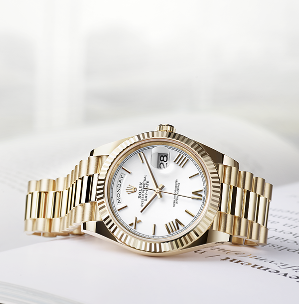 Achievement Defined Worn By World Leaders And Visionaries The Rolex Day Date 40 Is An International Symbo Rolex Day Date Luxury Watches For Men Rolex Watches