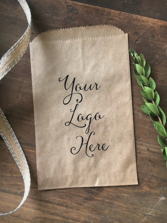Custom printed paper bags customer appreciation your logo gift bags small business promotional bags printed with your custom logo a beautiful and personal touch colourmoves