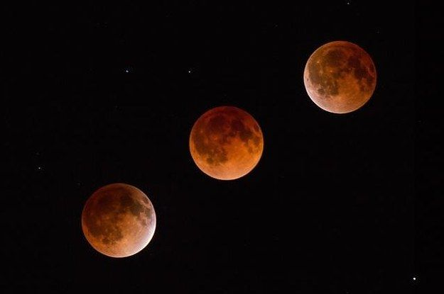 Wednesday's event is the second in a rare set of four lunar eclipses.