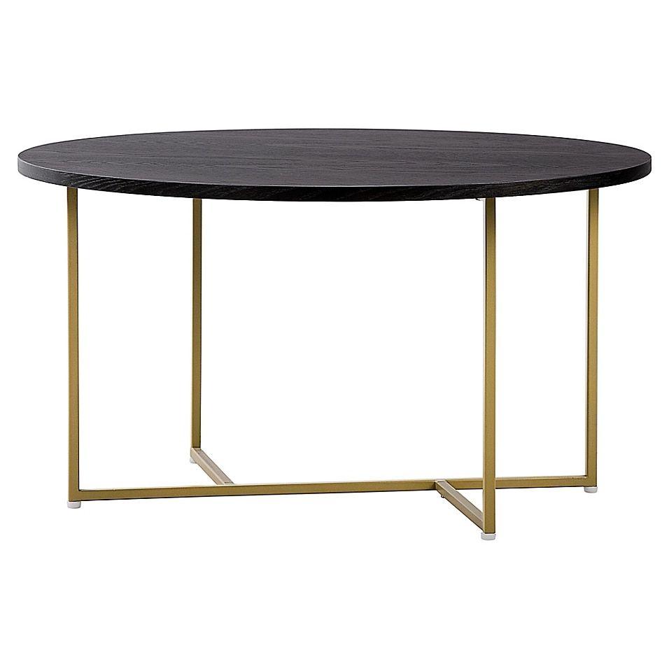 Elle Decor Ines Round Coffee Table Bed Bath Beyond Coffee Table Round Coffee Table Furniture [ 956 x 956 Pixel ]