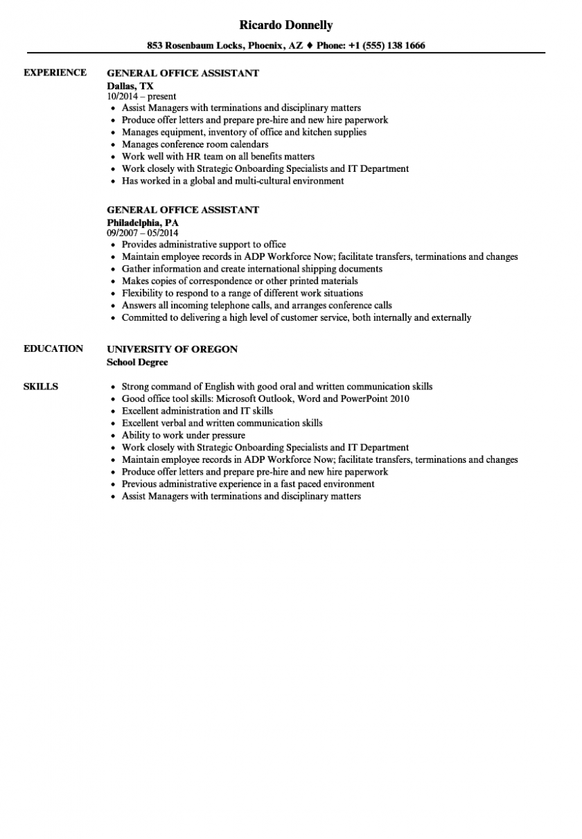 College Resident assistant Resume Sample Lovely Objective