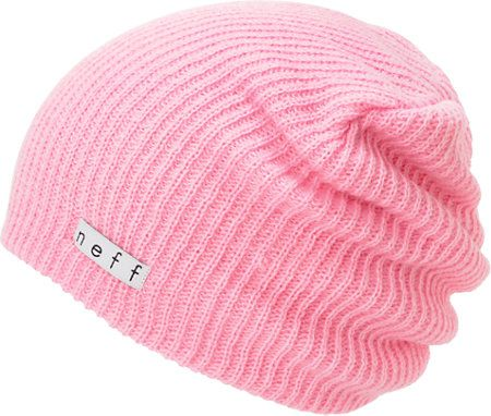 89961a81a5c8a Neff Daily Light Pink Beanie