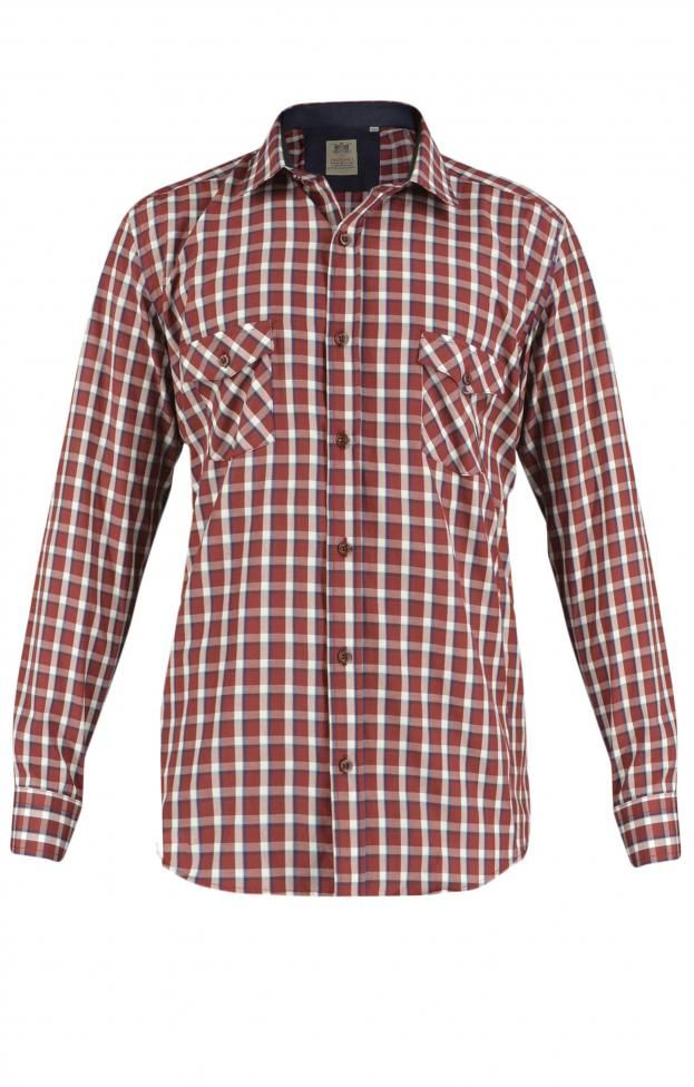 41e7d3e01184 Ανδρικό πουκάμισο καρώ POUK-1638