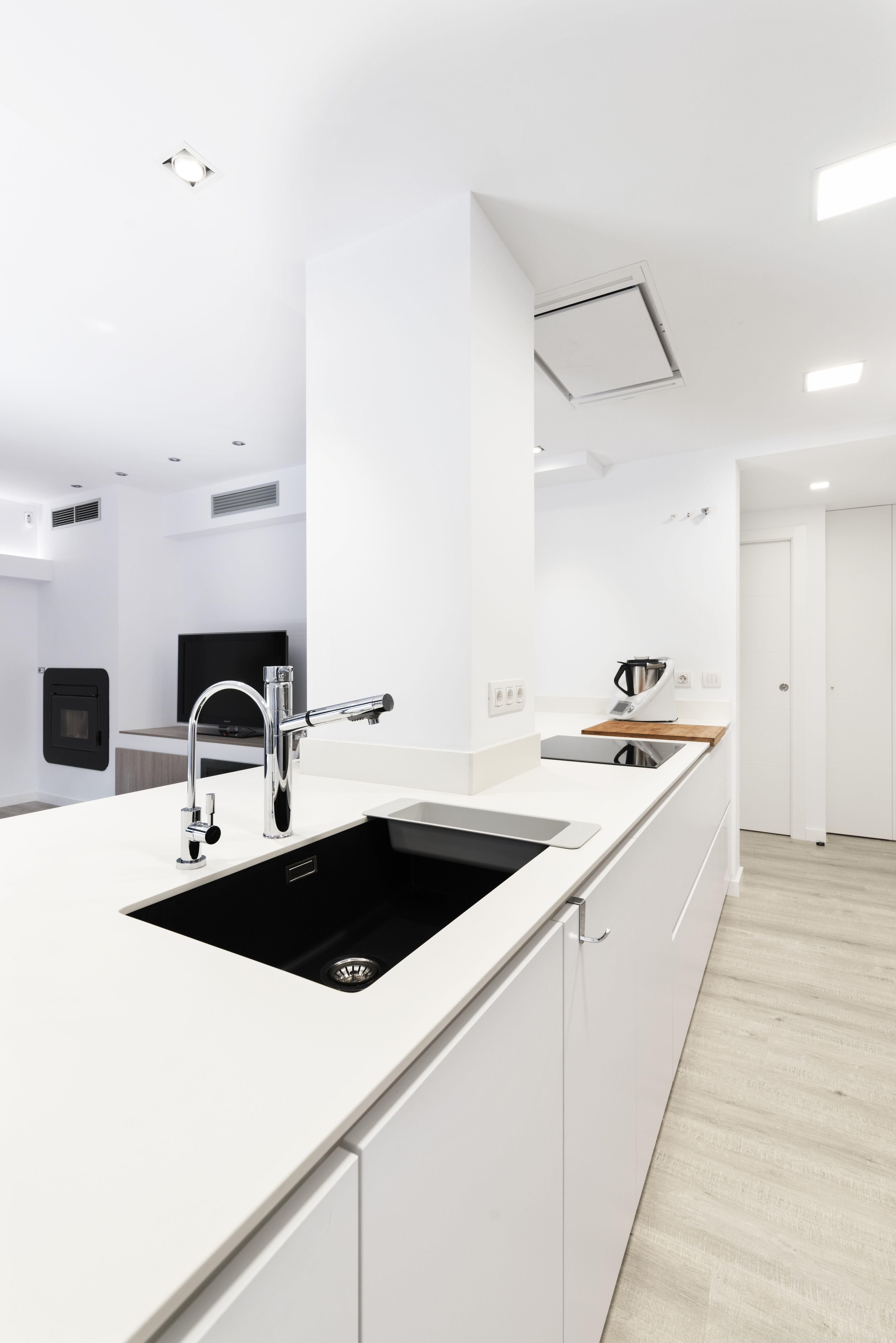 Diseño INKO del modelo Gourmet Chantilly Blanco, una cocina ...