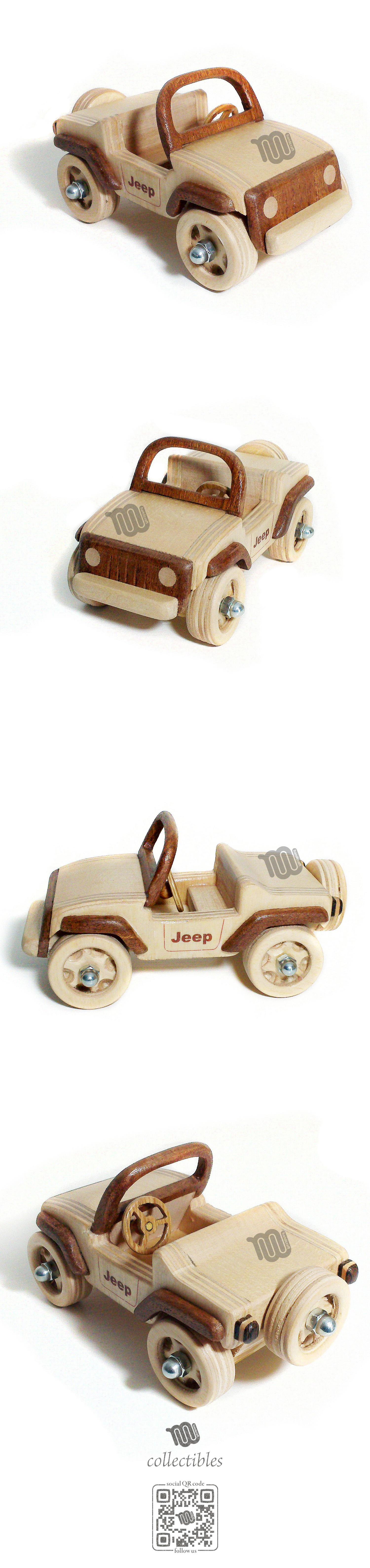 Mini jeep car toys  Mini Jeep  wood replica  Wooden toys Toy and Wood toys