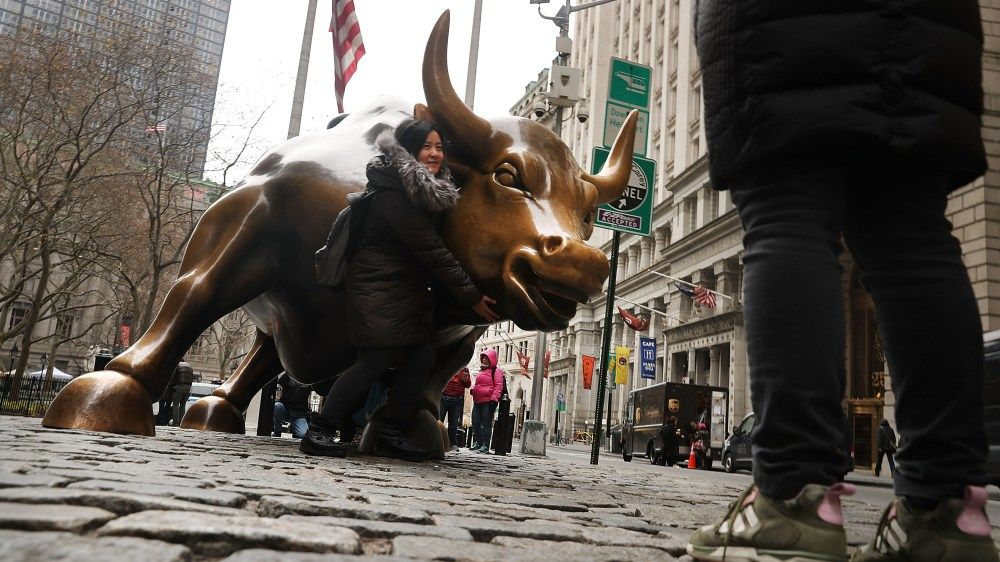 the iconic wall street bull is getting an important on wall street bets logo id=18637