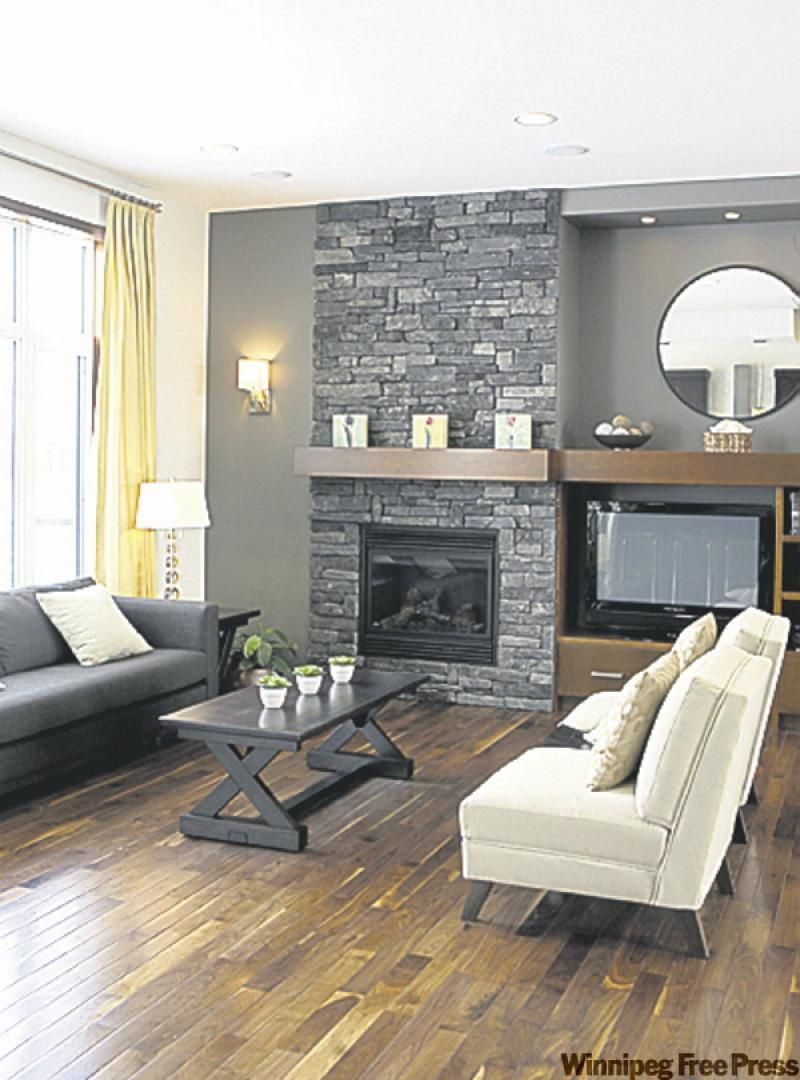 grey stone fireplace google search house 1st floor