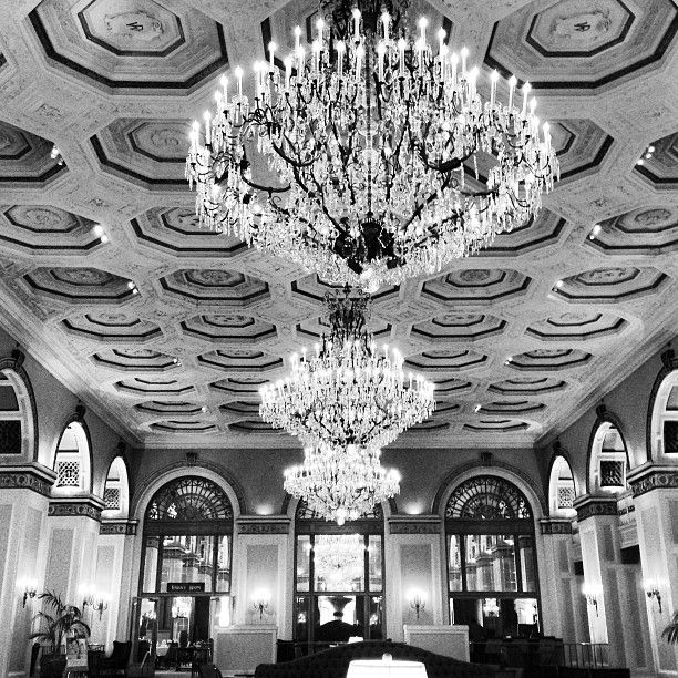 Light Fixtures Rochester Ny: @makindephotogs Photo: #omni #chandeliers #monochrome