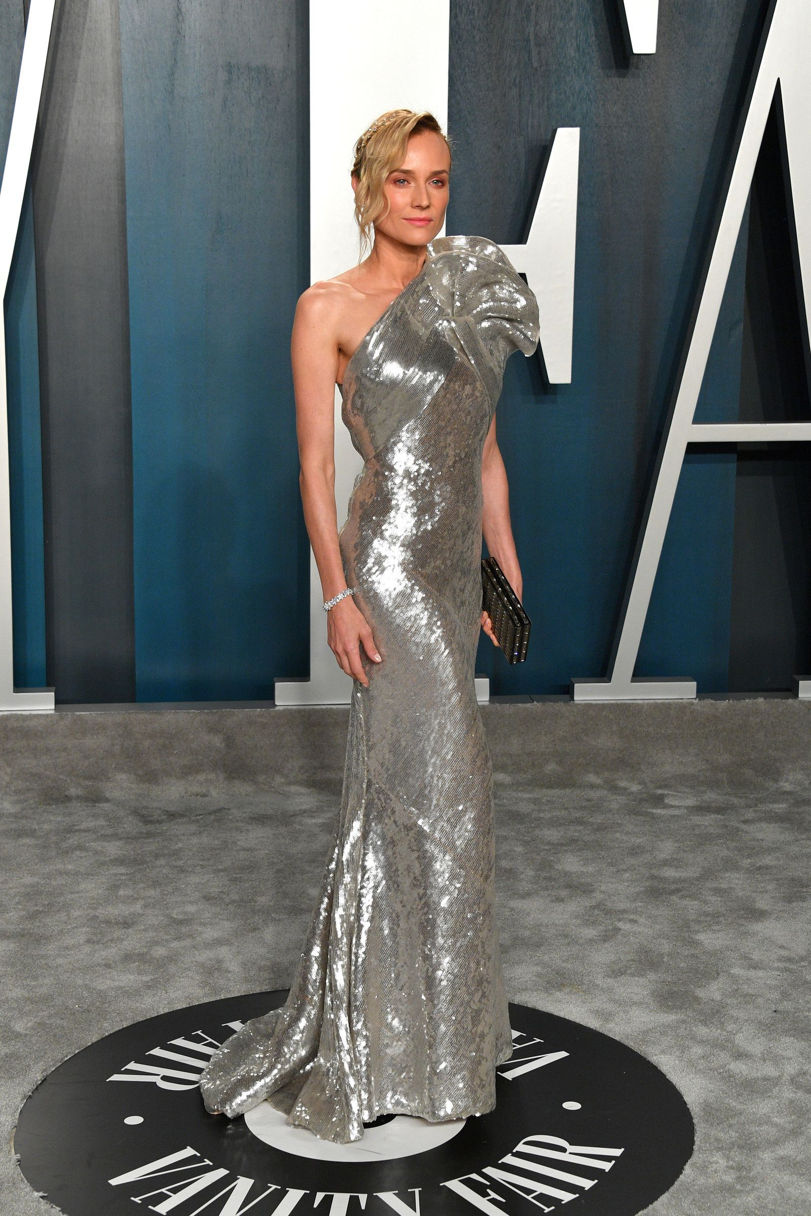 All The Fashion You Need To See From The 2020 Oscars After Parties Fashion Dresses Diane Kruger