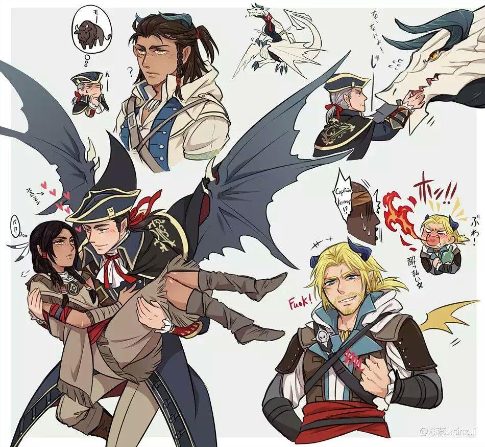 Http Sinzui Tumblr Com Assassin S Creed Assassins Creed Anime