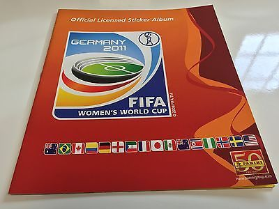 Panini #women's #world cup #germany 2011 - empty album -  mint,  View more on the LINK: 	http://www.zeppy.io/product/gb/2/201603983225/