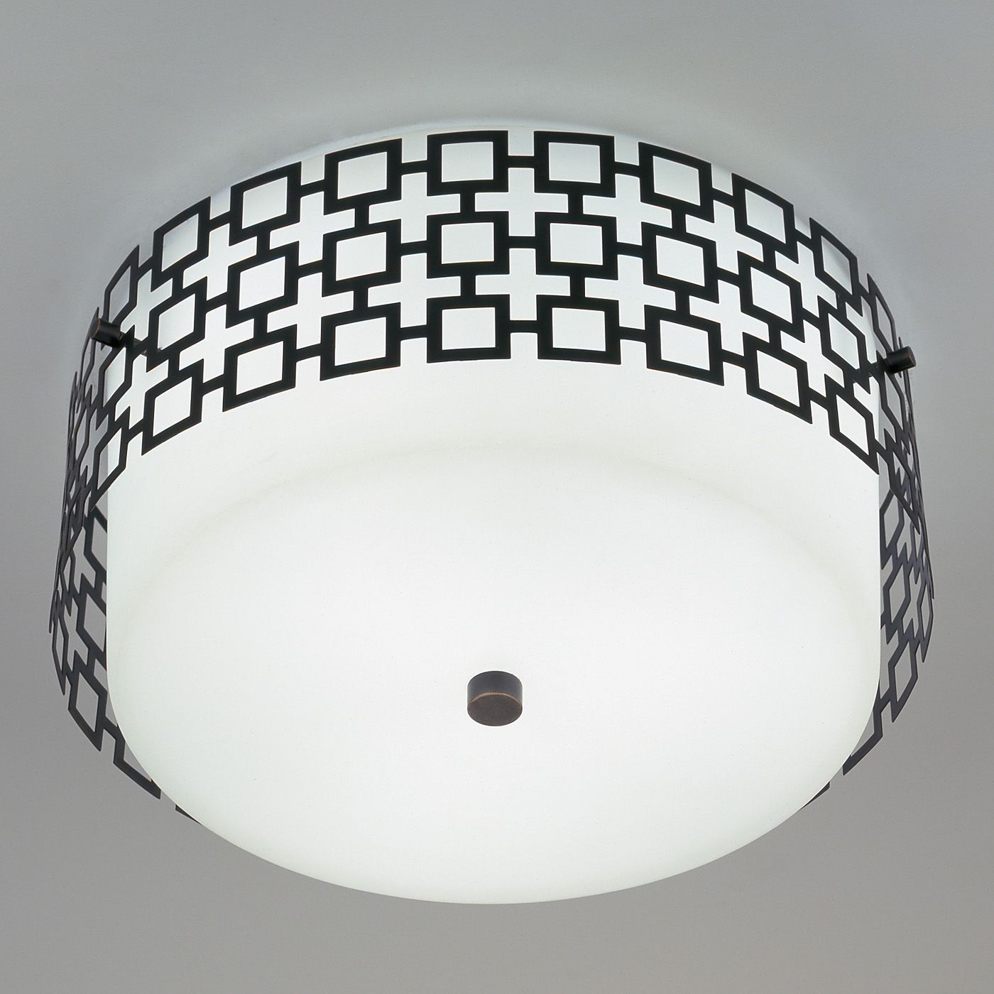Modern Lighting | Parker Flush Mount Ceiling Lamp | Jonathan Adler