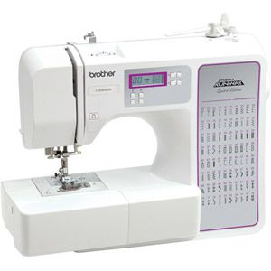 Brother 80 Stitch Limited Edition Project Runway Computerized Sewing Machine Walmart Com Computerized Sewing Machine Project Runway Sewing Machine Brother Sewing Machines