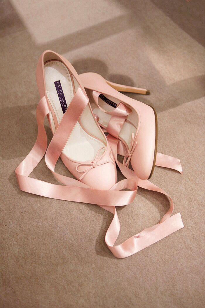 Ralph Lauren. Ballet heels. ..my