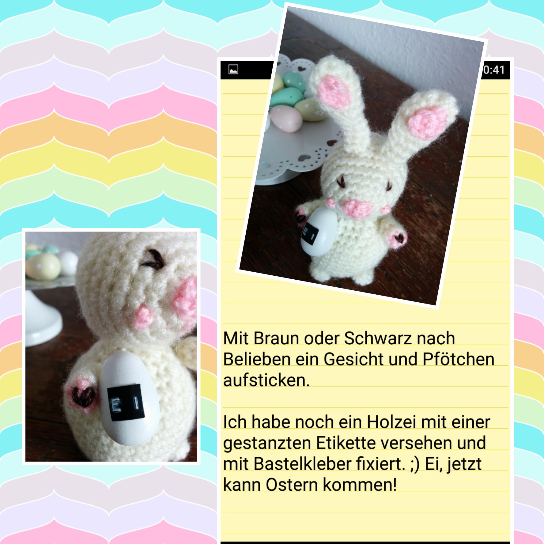 Ei A Häschen Teil 4 Sabine Pinterest Hase Häkeln Hase