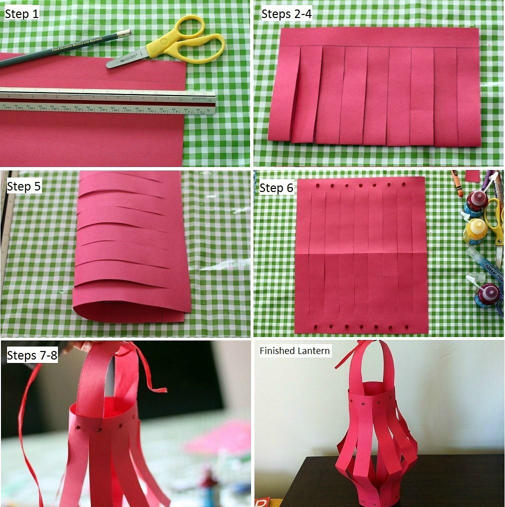 How To Make Paper Lanterns For Chinese New Year